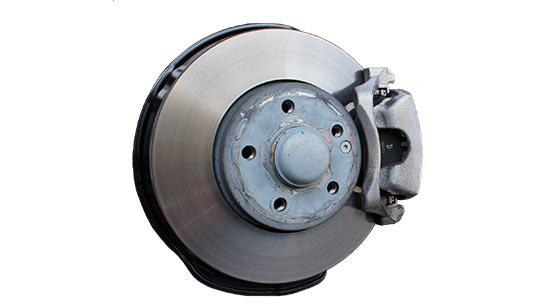 Sqealing brake rotors and pads auto repair shop
