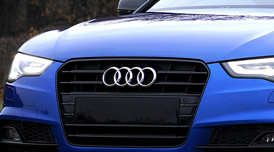 The Volkswagen group Audi brand vehicles